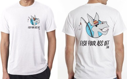 Fish your ass off store fyao saltwater media group inc for Fishing shirts that keep you cool